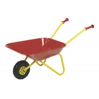 Red Metal Childs Wheelbarrow