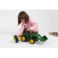Britains Big Farm John Deere with Front Loader