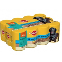 Pedigree Cuts in Jelly Tins 385g - 12 for the price of 10