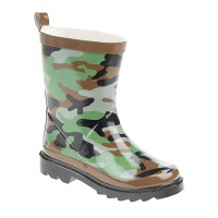 Childs Camouflage Wellington Boots