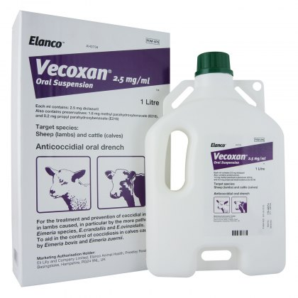 Vecoxan Oral Suspension