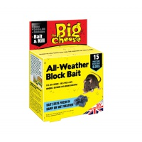 All-Weather Block Bait - Pack of 15