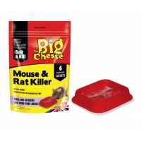 The Big Cheese Mouse & Rat Killer - Pack of 6