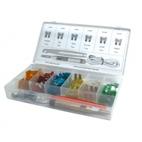 Blade Fuse & Tools Kit Box - Pack of 93