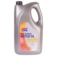 Autocare Fully Synthetic Motor Oil 5w/30 4.5 Litre