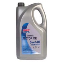 Autocare Fully Synthetic Motor Oil 5w/40 4.5 Litre