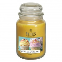 Large Candle Jar - Vanilla Cupcake