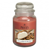 Large Candle Jar - Sugar & Almond