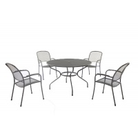 Carlo Mesh Garden Table & Chairs