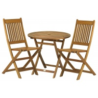 York Wood Garden Table & Chairs
