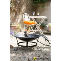 La Hacienda Albion Steel Fire Bowl