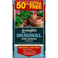 Levington Original Multi Purpose Compost 50 Litre + 50% FREE