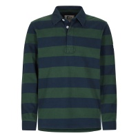 Lazy Jacks Mens Stripe Rugby Shirt