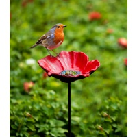 Gardman Cast Iron Poppy Feeder Dish