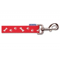 Ancol Paw & Bone Lead - Red