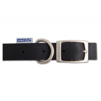 Ancol Nylon Collar - Black