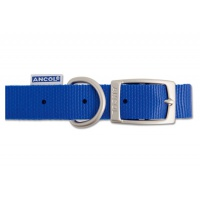Ancol Nylon Collar - Blue