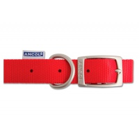 Ancol Nylon Collar - Red 45cm