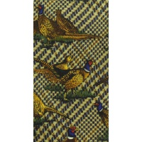 Bisley Silk Tie with Large Pheasants