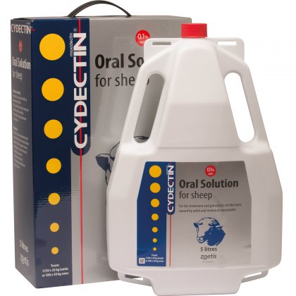 Cydectin 0.1% Oral Drench for Sheep