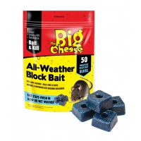The Big Cheese All-Weather Block Bait - Pack of 50