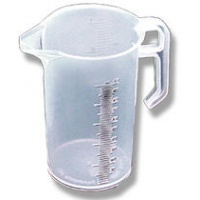 Clear Poly Measuring Jug 5 Litre