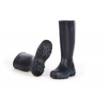 Grubs Rainline Wellington Boots - Navy