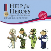 Help For Heroes Wall Calendar 2017