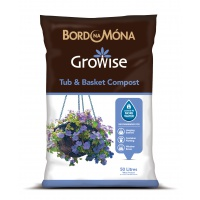 Growise Tub & Basket Compost 50 Litre