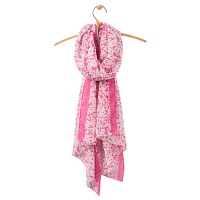Joules Wensley Scarf in Pink
