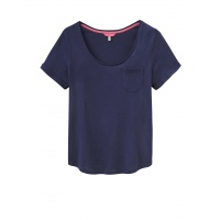 Joules Daily T Shirt in Navy