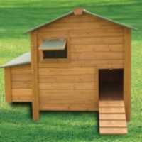 Poultry House with Nest Box