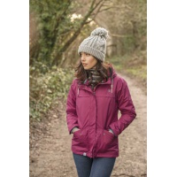 Lighthouse Beaufort Waterproof Jacket in Bramble