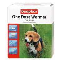 Beaphar One Dose Wormer for Medium Dogs - 2 Tablets