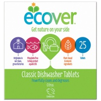 Ecover Dishwasher Tablets 25 Pack