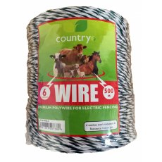 COUNTRY UF ELECTRIC FENCE WIRE