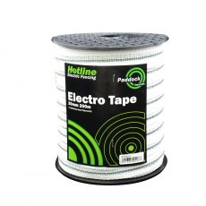 HOTLINE WHITE PADDOCK ELECTRIC TAPE 40MM X 200M