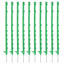 HOTLINE GREEN ELECTRIC FENCE POSTS 10PK