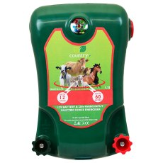 COUNTRY UF MAINS POWERED ELECTRIC FENCE ENERGISER 12V