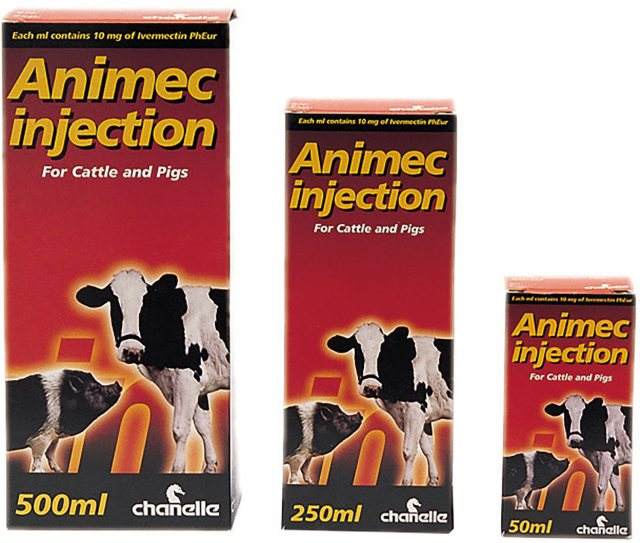 Chanelle ANIMEC INJECTION 500ML