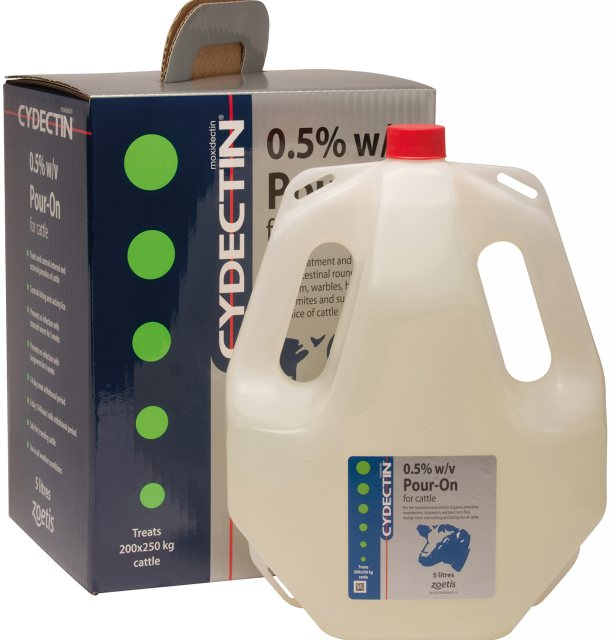 Zoetis CYDECTIN POUR-ON CATTLE