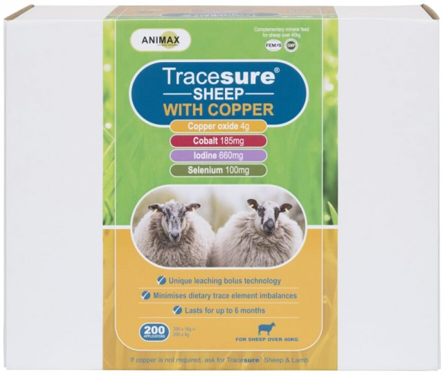 Animax TRACESURE SHEEP WITH COPPER 200PK