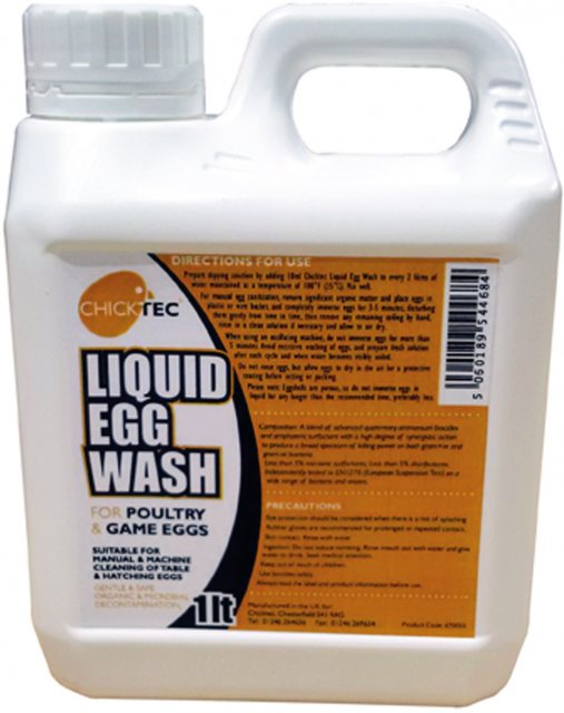 CHICKTEC EGG WASH LIQUID 1L