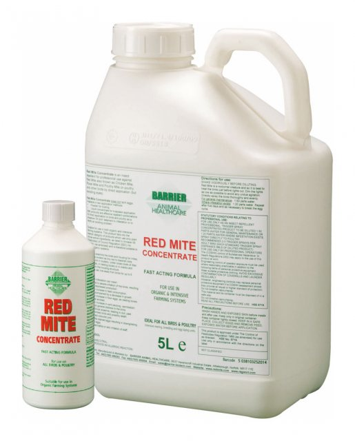 Barrier BARRIER RED MITE CONCENTRATE 500ML