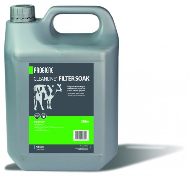 CLEANLINE FILTER SOAK 5L PROGIENE