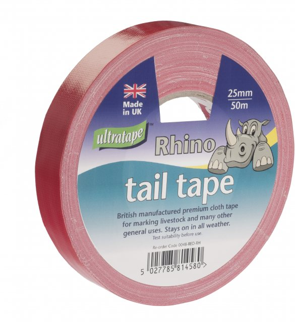 COW TAIL TAPE 25MM X 50M