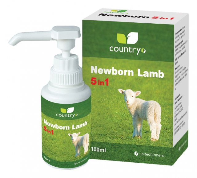 NEWBORN LAMB 5IN1 100ML COUNTRY UF