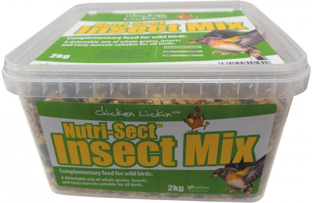 CHICKLIC NUTRI-SECT INSECT MIX 2KG C/LICKIN