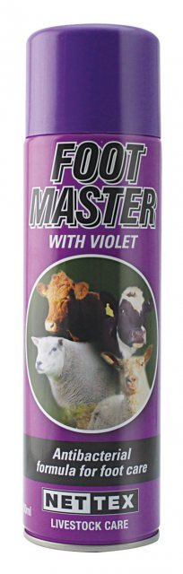Nettex NETTEX FOOTMASTER SPRAY WITH VIOLET 500ML