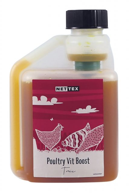 Nettex NETTEX VITAMIN BOOST WITH ADDED SEAWEED 250ML